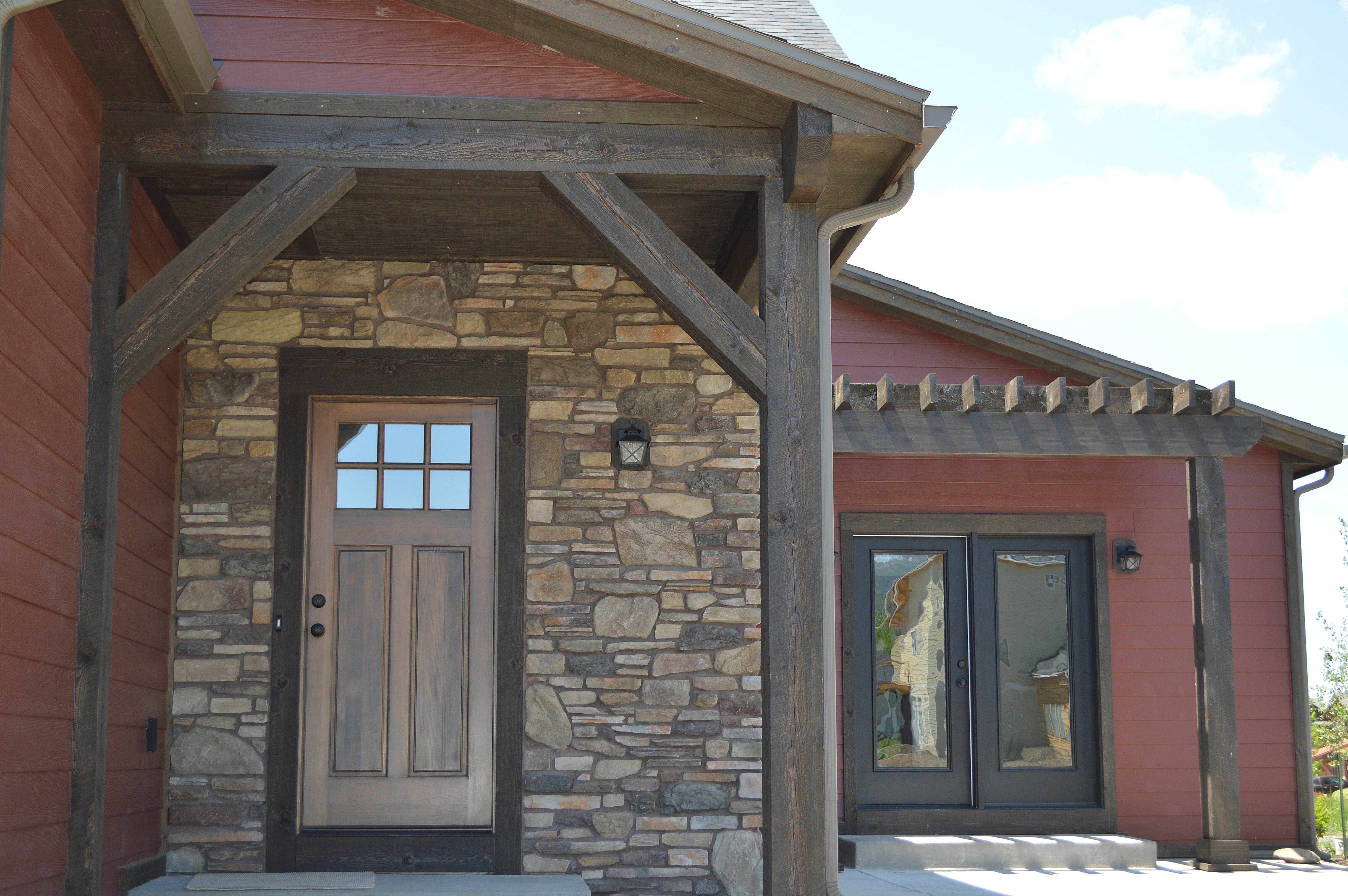 ranchwood™, is an effective rustic wood siding cost ...