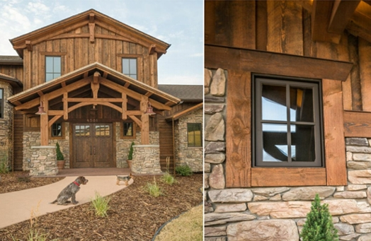 Ranchwood Rustic Wood Siding And Timbers Montana Timber