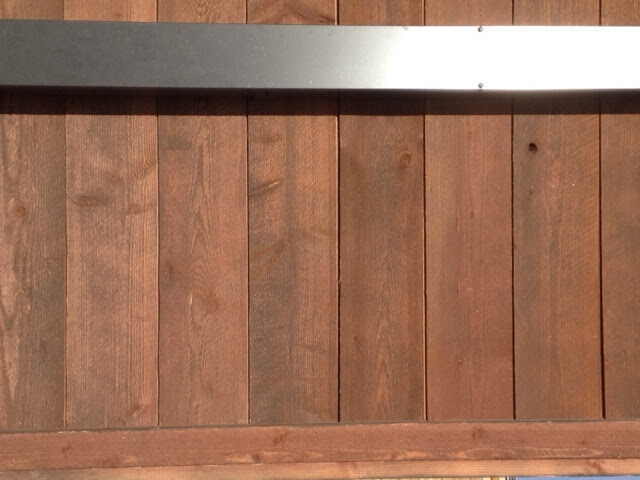 Exterior close up-Northern Exposure 1x10 shiplap image