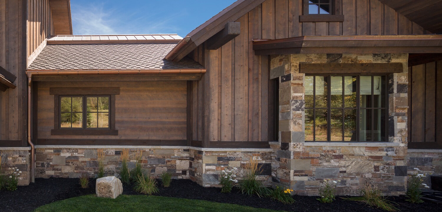 Prefinished Reclaimed Barn Wood Siding Alternative  Ranchwood™